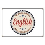 USA Official Language Banner
