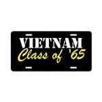 Vietnam Class Of 1965 Aluminum License Plate