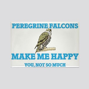 Peregrine Falcons Make Me Happy Magnets