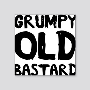 Grumpy Old Bastard Sticker