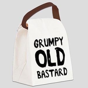 Grumpy Old Bastard Canvas Lunch Bag