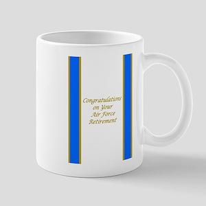 Air Force Retirement Congratulations Mug