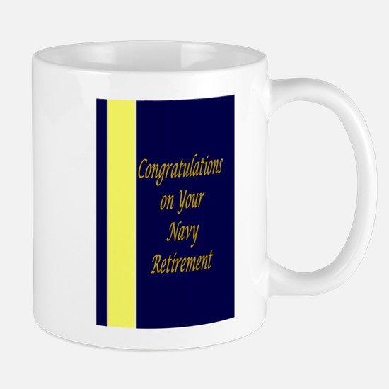 Navy Retirement Congratulations Mug