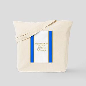 Air Force Retirement Congratulations Tote Bag