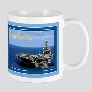 Military Inspired Carrier Thank You Mug