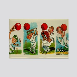 Cricket Players Magnets