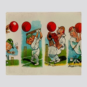 Cricket Players Throw Blanket