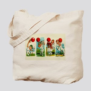 Cricket Players Tote Bag