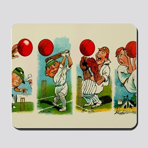 Cricket Players Mousepad