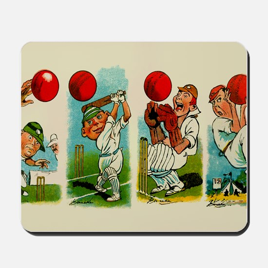 Cricket Players Mousepad