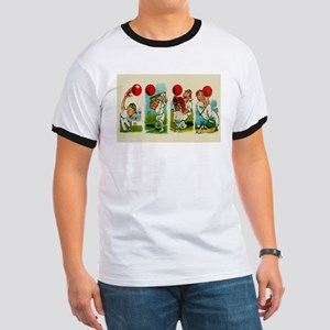 Cricket Players Ringer T
