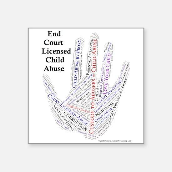 Promote Judicial Awakening Hand Sticker