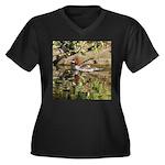 Merganser Family Plus Size T-Shirt
