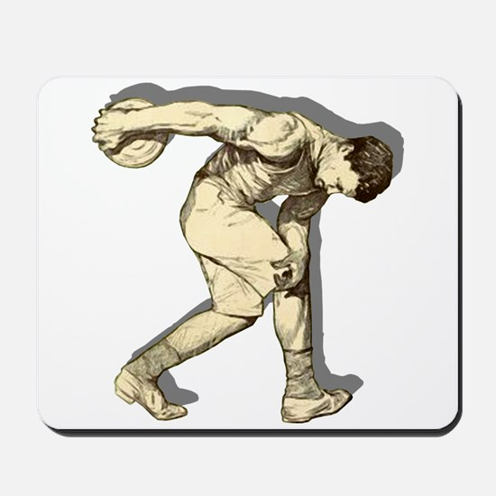 Discus Thrower Mousepad