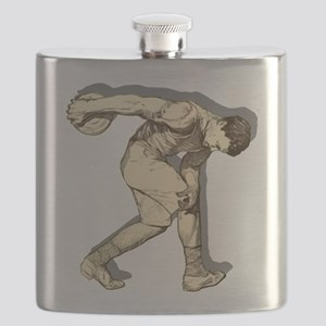 Discus Thrower Flask