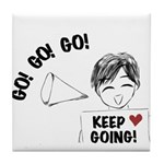 Encouragement 2 Tile Coaster