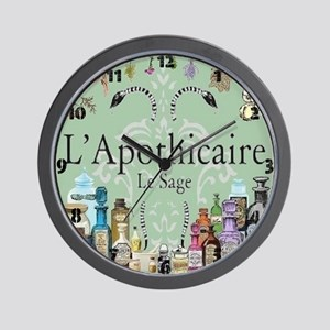 L'apothicaire Wall Clock