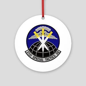 21st Special Tactics Squadron Ornament (round)