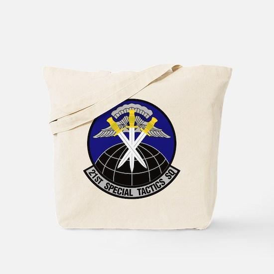 21st Special Tactics Squadron Tote Bag
