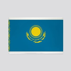 Qazaqstan flag Rectangle Magnet