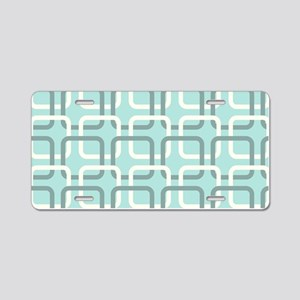 Retro Pattern Aluminum License Plate