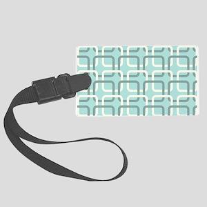 Retro Pattern Luggage Tag
