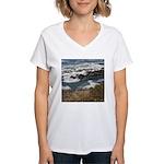 Seal Rock Women's V-Neck T-Shirt