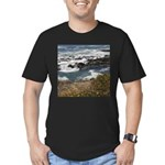 Seal Rock Men's Fitted T-Shirt (dark)