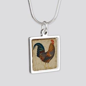 Red Rooster vintage Necklaces