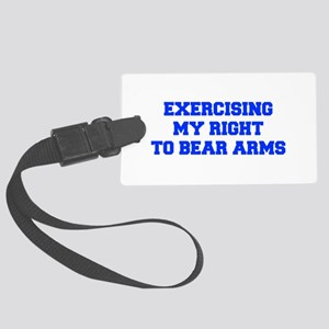 exercising-my-right-to-bear-arms-fresh-blue Luggag