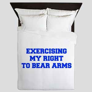 exercising-my-right-to-bear-arms-fresh-blue Queen