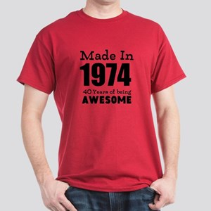 Custom Birthday Made In Year And Age T Shirt