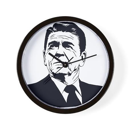 Strk3 Ronald Reagan Wall Clock
