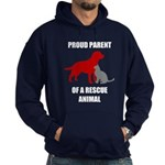Proud Parent of a Rescue Animal Hoodie