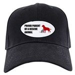 Proud Parent of a Rescue Animal Baseball Hat