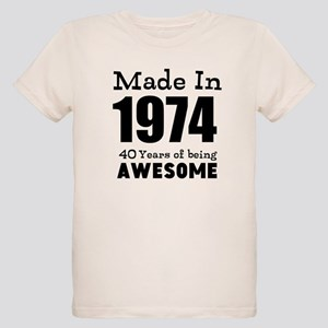 7b4b33e1d Custom Birthday Made in year and age T-Shirt
