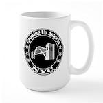 Growing Up Astoria Stamp Circle Large Mugs