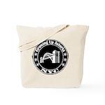 Growing Up Astoria Stamp Circle Tote Bag