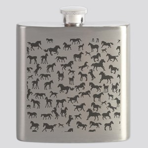 Mini Horses Flask