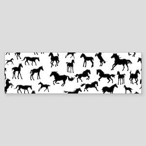Mini Horses Sticker (Bumper)
