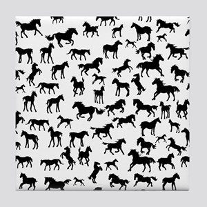 Mini Horses Tile Coaster