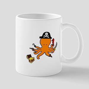 Octopus Pirate Mugs