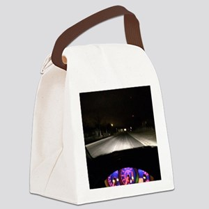 Night Drive Canvas Lunch Bag