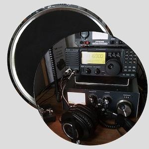 Ham Radio Station Magnet