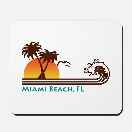 Miami Beach FL Mousepad