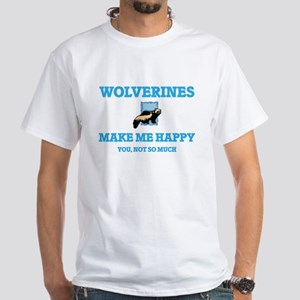Wolverines Make Me Happy T-Shirt