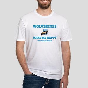 Wolverines Make Me Happy T-Shirt