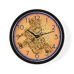Dirt Biker Wall Clock