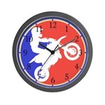 Peewee Dirt Bike Wall Clock