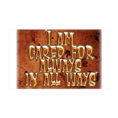 I Am Cared For Wall Decal